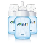 Philips AVENT 3 Pack 9oz Anti Colic Bottles - Blue