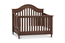 Frank & Ben Amelia Crib 4-in-1 and D.Dresser 2-Pieces in Weathered Cocoa Finish
