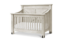 Franklin & Ben Providence Convertible Crib 4-in-1 Distressed White with Distressing Marks