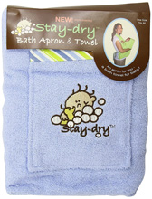Hamco Stay Dry Hooded Towel Apron Blue