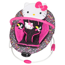 Baby Trend Bouncer - Hello Kitty Pin Wheel