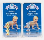 Baby King Duck Shaped Diaper Pins