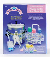 Baby King 25 Piece Sterilizer Set
