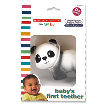 Scholastic for Baby Baby's First Teether, Panda