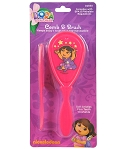 Baby King Dora the Explorer Comb & Brush