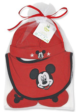 Baby King Disney Babies Hat, Bib and Booties Set
