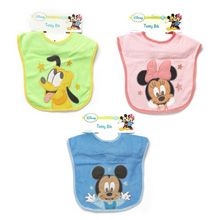 Baby King Disney Baby Terry Bibs, Assorted