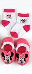 Baby King Disney Baby Minnie Slippers & Sock Set