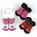 Baby King Mickey & Minnie Baby Booties