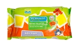Plaza Sesamo Baby Wipes, 80 Count