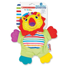 Scholastic Doll Teether, Lion