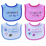 Baby Vision Spanish Sayings Bib
