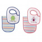Luvable Friends Bibs & Burp Cloth Animal Prints