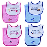 Baby Vision Spanish Bib & Burp Cloth