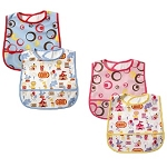 Baby Vision 2PK Waterproof Coated Bib