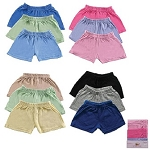 Luvable Friends 3PC Baby Shorts