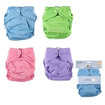 Luvable Friends All-in-One Reusable Diaper Assortment Colors