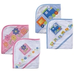 Luvable Friends 2PK Hooded Towels