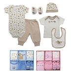 Baby Vision 6PC Layette Box Set