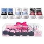 Baby Vision Little Shoe Socks 3 Piece Gift Set