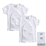 Luvable Friends Shirt in White 2PK Newborn