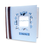 Baby Essentials Sweet Start Photo Album Blue