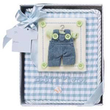 Baby Essentials® Baby's First Photo Album Blue