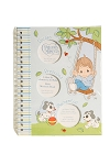 Baby Essentials Precious Moments Spanish Memory Book - Blue