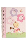 Baby Essentials Precious Moments Spanish Memory Book - Pink