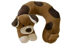 Baby Essentials Head Rest - Brown Puppy