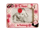 "Baby Essentials ""Diva in Training"" Resin Picture Frame"