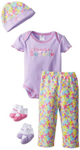 Baby Essentials I'm Such a Sweetie 5 Piece Layette Set