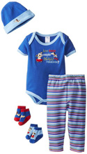 Baby Essentials 5-Piece Layette Gift Set