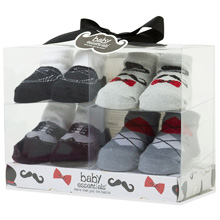 Baby Essentials Gentlemen Socks 4-pack