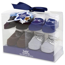 Baby Essentials Fashion Socks 4-Pack