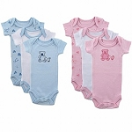 Luvable Friends Preemie 3-Pack of Bodysuits