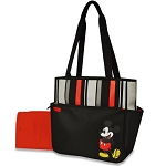 Disney Baby Mickey Stripe Diaper Bag