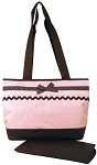 Baby Essentials Ribbon Diaper Bag Pink