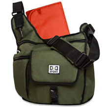 Diaper Dude Sport Flap Messenger Diaper Bag - Olive