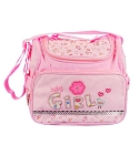 Baby Essentials Baby Girl Diaper Bag & Cooler