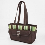 Baby Essentials 5 in 1 Diaper Bag, Multi/Brown