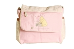 Baby Essentials Classic Winnie the Pooh Messenger Diaper Bag, Pink