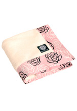 Balboa Baby Simply Soft Blanket, Pink Camellia