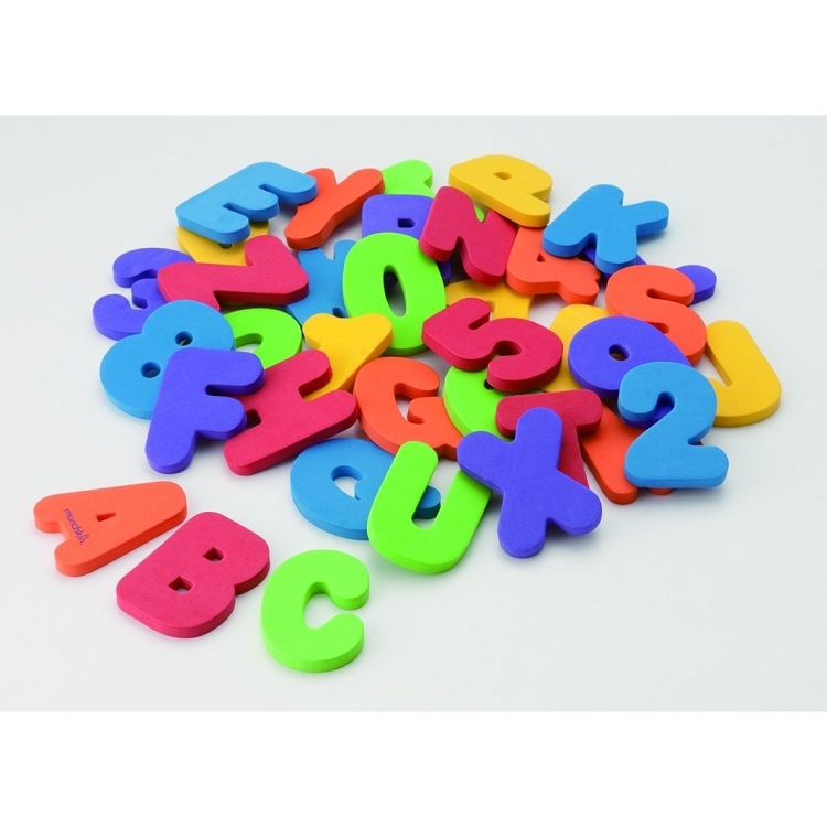 Foam Bathtub Letters