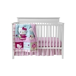 Bedtime Originals Hello Kitty & Puppy 3PC Crib Set