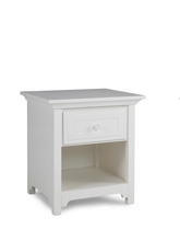 Ti Amo 4000 Series Nightstand, Snow White