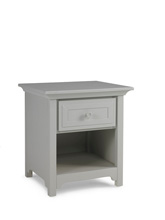 Ti Amo 4000 Series Nightstand, Misty Grey