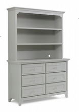 Ti Amo 4000 Series Hutch, Misty Grey