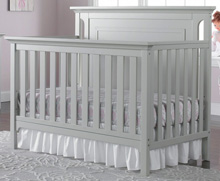 Ti Amo Carino Convertible Crib, Misty Grey