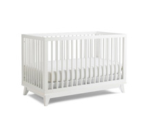 Ti Amo Moderna Island Crib in Snow White